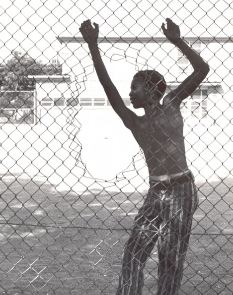 Boy At Fence, 1971,