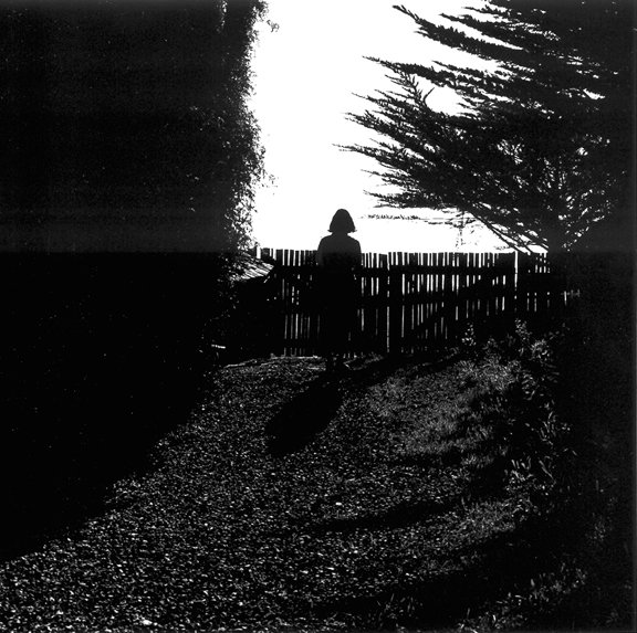 Ellen at the Coast Gallery, Big Sur         1986